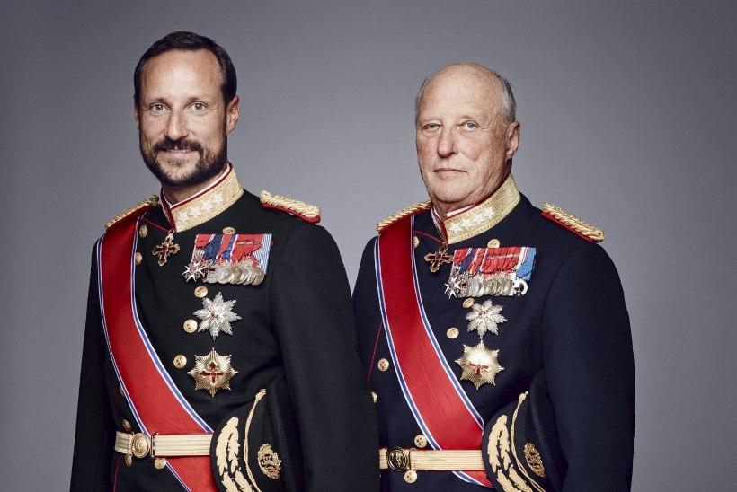 Norra kroonprints Haakon tõusis kuninga haiguse tõttu asevalitsejaks