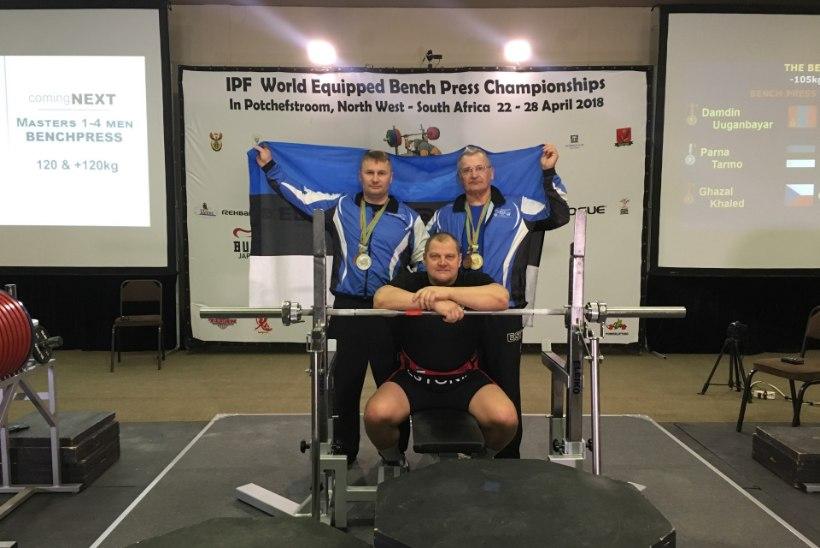 JÕUJUURIKAD! Eesti jõutõstjad on MMilt võitnud juba neli medalit