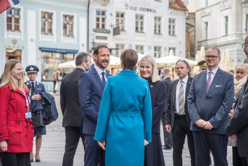 GALERII JA VIDEO   Tallinn ühe tunniga ehk Milliseid kohti külastasid Norra kroonprints ja -printsess linnaekskursioonil