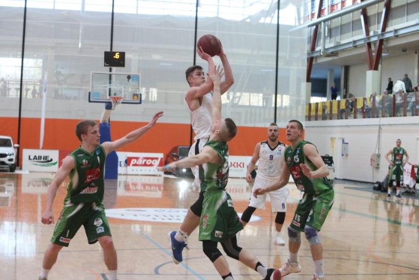 FOTOD | Poolfinaalis: Pärnu meeskond alistas kolmandat korda Valga
