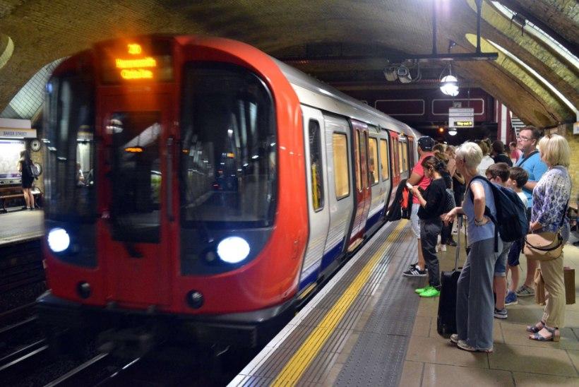 Londoni metroos sõideti sadu kordi üle rebaseks peetud inimesest