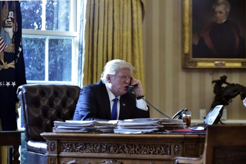 VIHA KEES ÜLE ÄÄRE? Trump pidas otse-eetris maha pooletunnise tiraadi