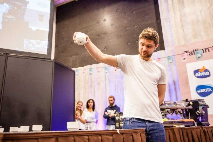 Palju õnne! Eesti parim kohvimaitsja on taas Henry Politanov!