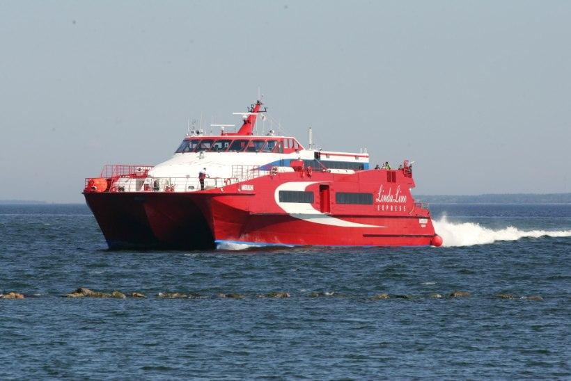 Linda Line lõpetab mõneks ajaks Tallinna ja Helsingi vahel sõitmise