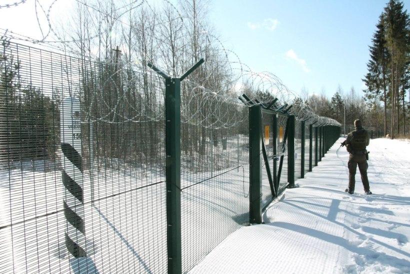 GALERII | Jüri Ratas käis piiriehitust kaemas