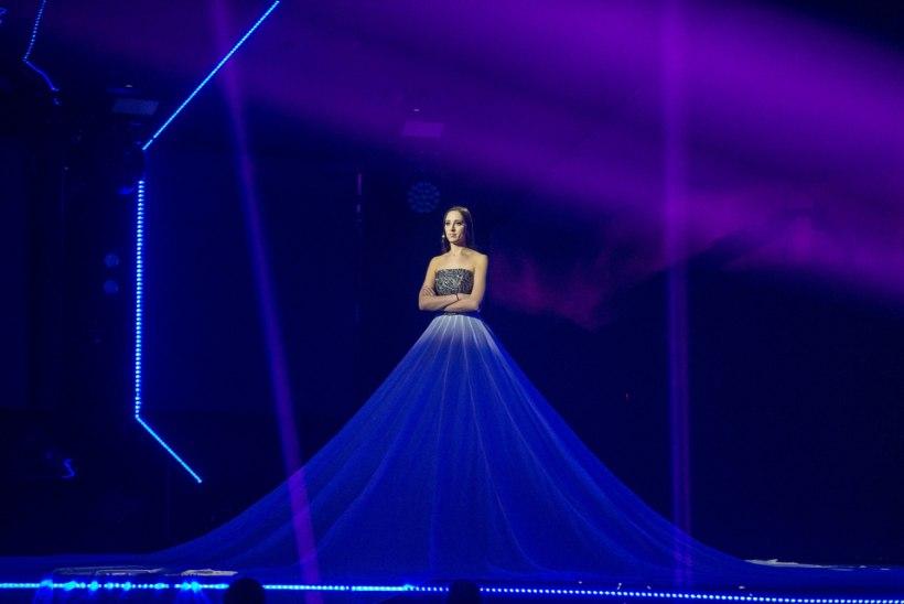 Elina Nechayeva Eurovisioni lavasõu on ikka veel lahtine! Normet: kleidi projektsiooni summa on täiesti üüratu!