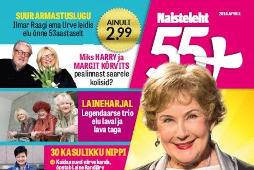 Millest põnevast kirjutab Naistelehe eriväljaanne 55+?