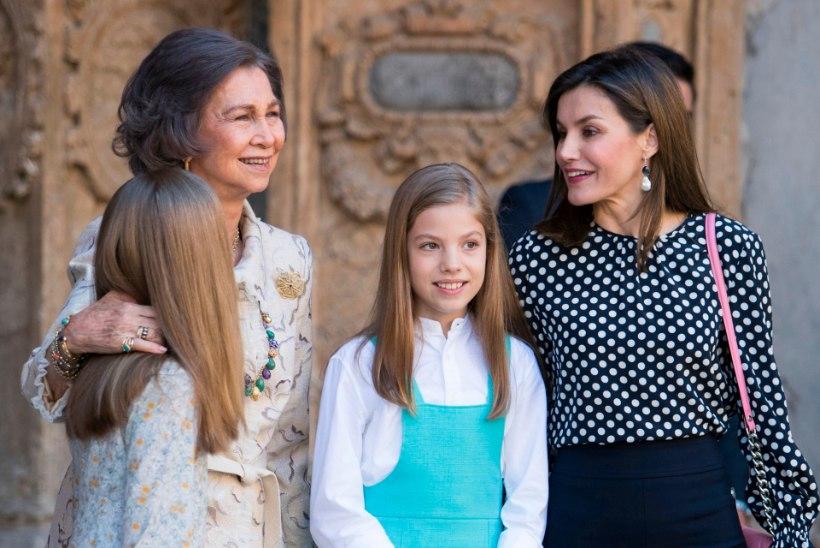 INETU STSEEN: Hispaania kuninganna kargas oma ämmale kraesse!