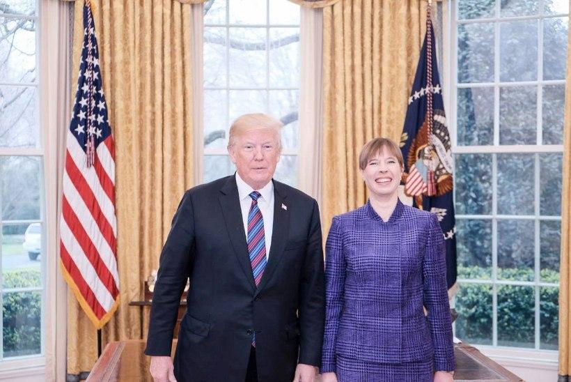 Toomas Alatalu   Kaljulaid tegi Trumpist telje!