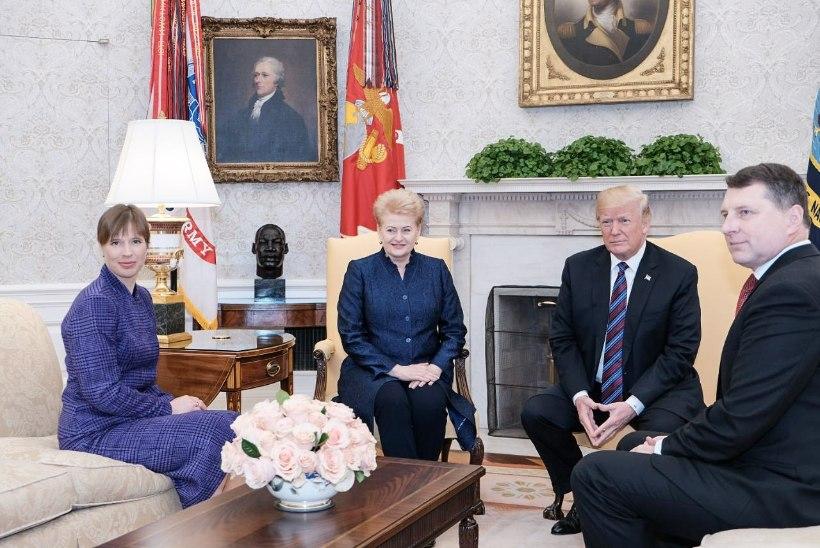 Kaljulaid: oleme USA-ga headuse teljel
