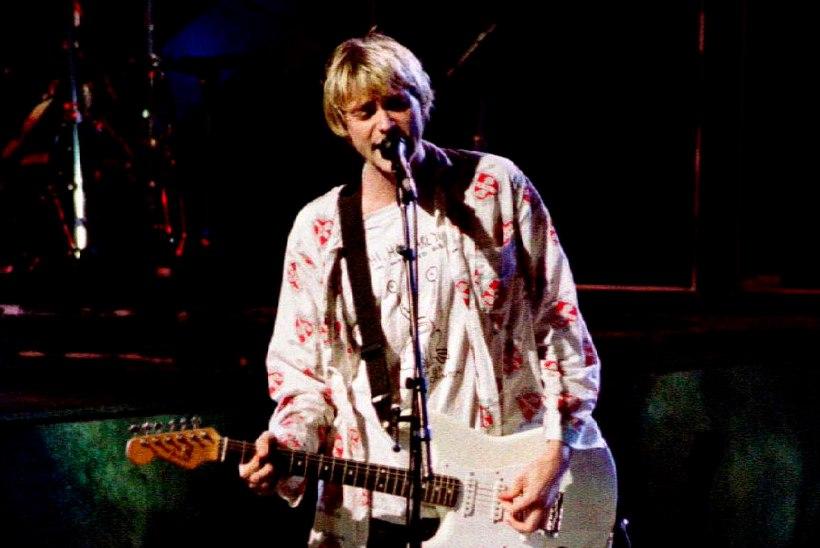 Nirvana legendi Kurt Cobaini enesetapust täitub täna 24 aastat