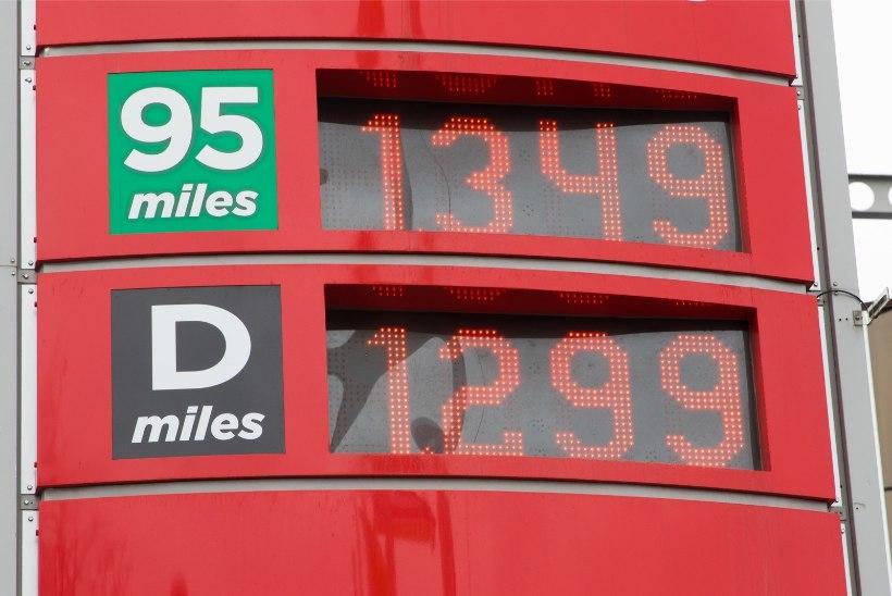 Kütusemüüja: hinnavahe teiste Balti riikidega tuleb eelkõige maksudest
