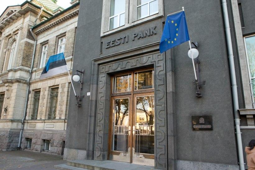 Eesti Pank eraldas veerandi mullusest kasumist riigieelarvesse