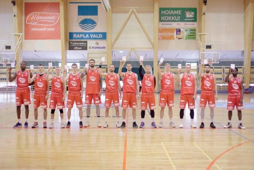 Täna astuvad Eesti sportlased valget kaarti näidates üles koolikiusamise vastu
