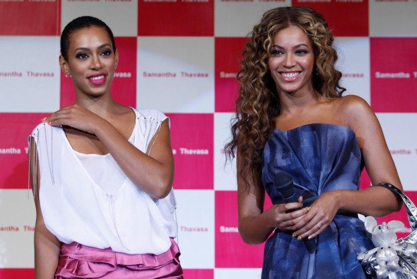 SÄH SULLE, BEYONCÉ: Solange Knowles avaldas provokatiivse toplessfoto