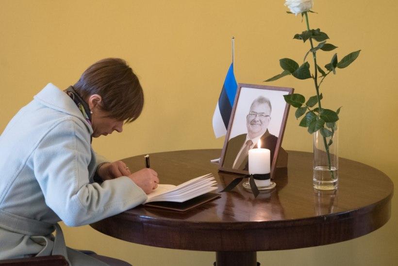 FOTOUUDIS | Kersti Kaljulaid järelhüüdes Andres Ammasele: liiga vara läksid