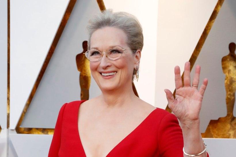 """Vaata, kuidas näeb välja parukaga Meryl Streep """"Suurtes väikestes valedes"""""""