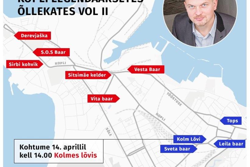 VIDEO | Kalamaja baarituur koos Jaak Juske, Juku-Kalle Raidi ja Õhtulehega