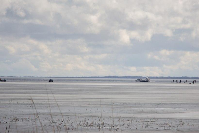 PÄÄSTEOPERATSIOON PEIPSIL: jääle jäi lõksu üle saja kalamehe