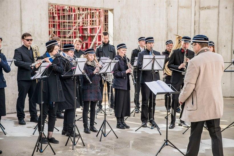FOTOD ja TIMELAPSE VIDEO | Vaata, kuidas jõuti Eesti Muusika- ja Teatriakadeemia saalikompleksi nurgakivini
