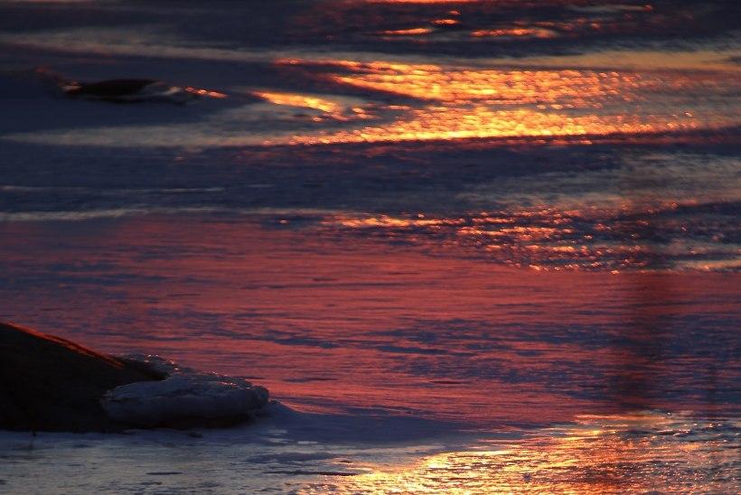 GALERII: Jääaja lõpp - imekaunid loojangud jääl