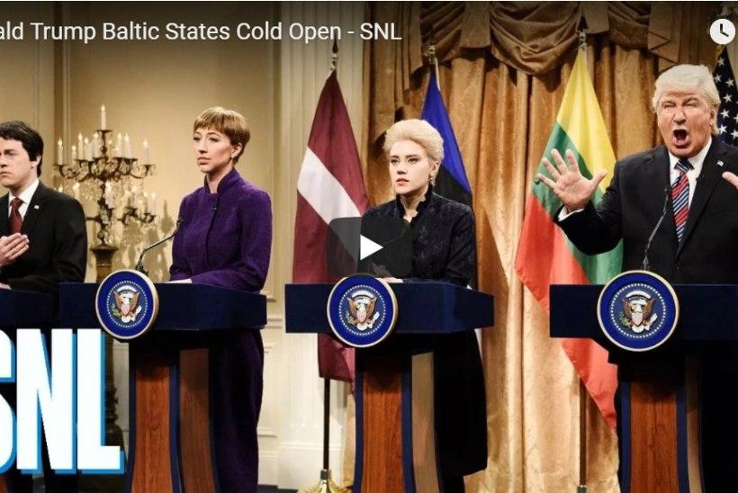 VIDEO | USA populaarne telesaade pilas Donald Trumpi ja Balti riikide presidentide kohtumist