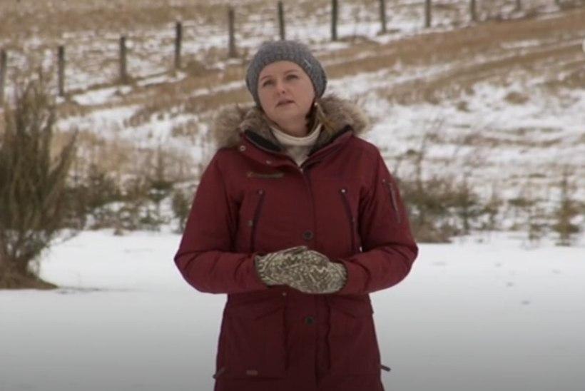 """Signe Lahtein """"Kodutunde"""" viimases saatuslikus episoodis: """"Vaadake, kui toreda taevatrepi leidsin ma siit Põlvamaalt!"""""""