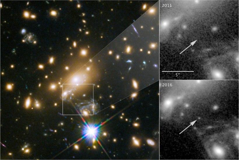 Kaugeim täht, mida eales nähtud: üheksa miljardit valgusaastat eemal
