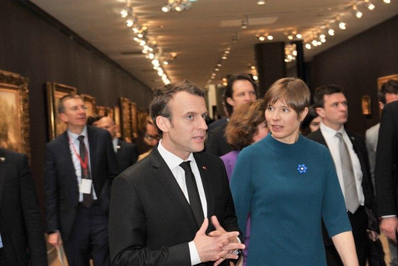 FOTOUUDIS | President Kaljulaid külastab Prantsusmaad