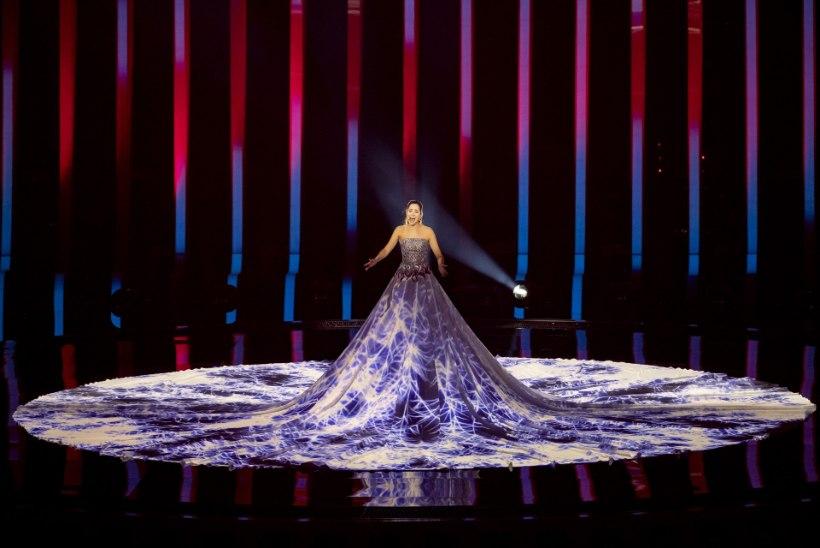 Äge! Eurofännide hinnangul oli Elina Nechayeva lavaproov esimese päeva parim