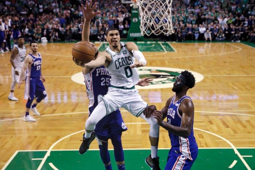 VIDEO   Boston Celticsi noored ässad võtsid Philadelphia skalbi, ees ootab LeBron James