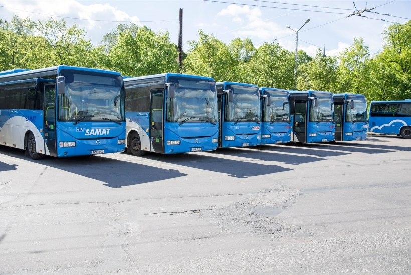 Harjumaa omavalitsused: tasuta bussisõit mõjub rongiliiklusele halvasti