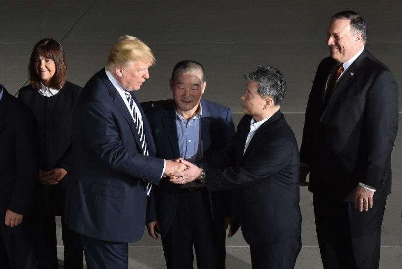 FOTOD | Kolm Põhja-Koreast pääsenud ameeriklast saabusid kodumaale tagasi