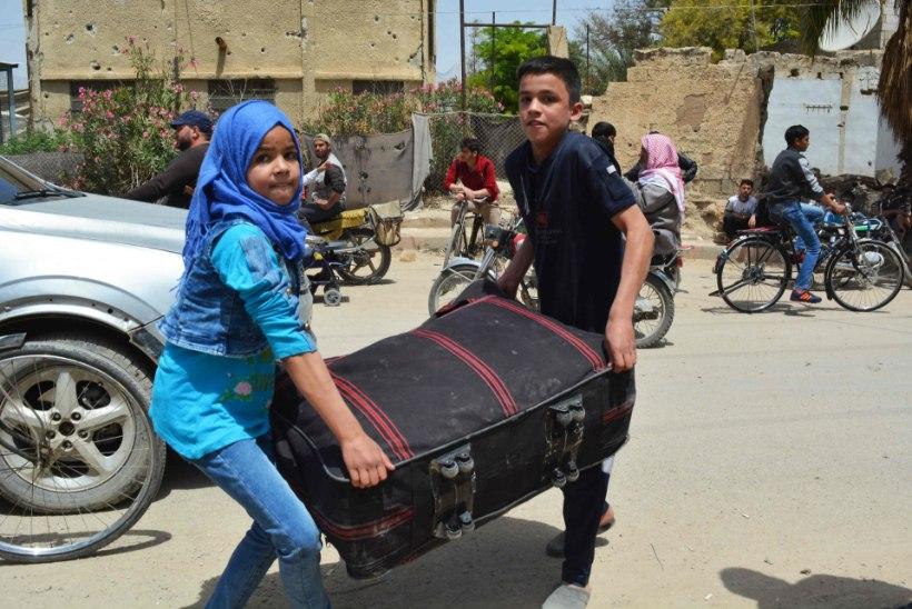 Süürias on orvuks jäänud üle 100 000 lapse