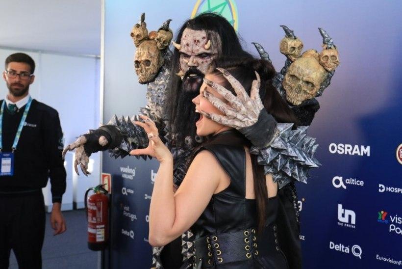 FOTOD | Eurovisioni võitja Lordi kohtus Soome eurolaulja Saara Aaltoga