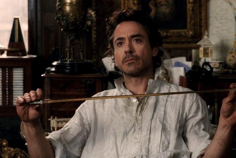 Robert Downey Jr. naaseb Sherlockina ekraanile