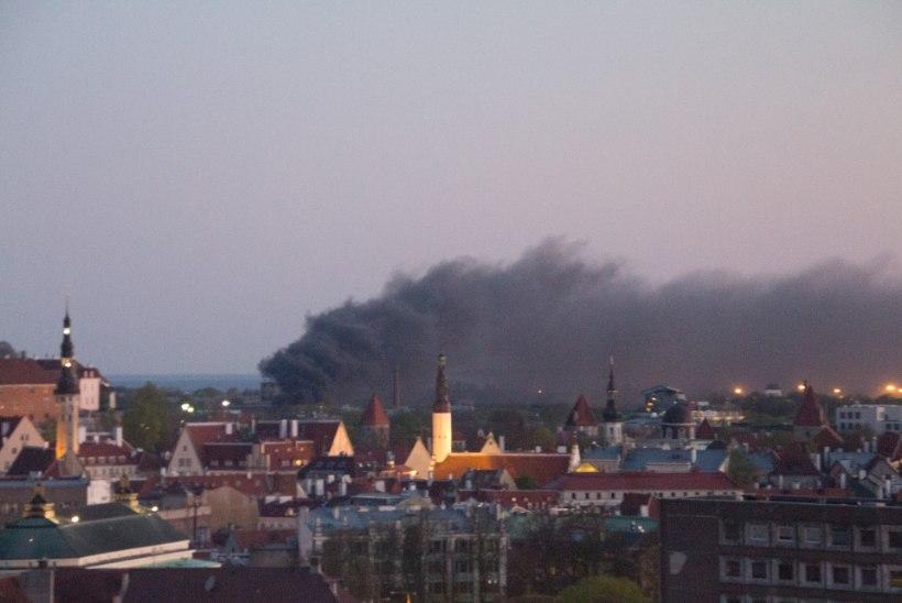 GALERII | Põhja-Tallinnas põles öösel 14 autot