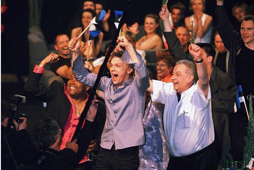 Vaata kaardilt, kes on andnud Eurovisionil Eestile enim ning vähim punkte