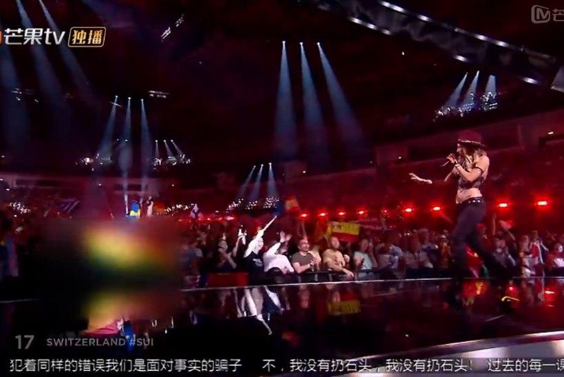 EBU katkestas koostöö Eurovisioni ülekannet tsenseerinud Hiina telekanaliga