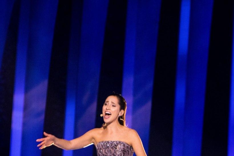 VIDEO | Vaata, kuidas Eurovisioni pressikeskus Elina Nechayeva esinemisele reageeris