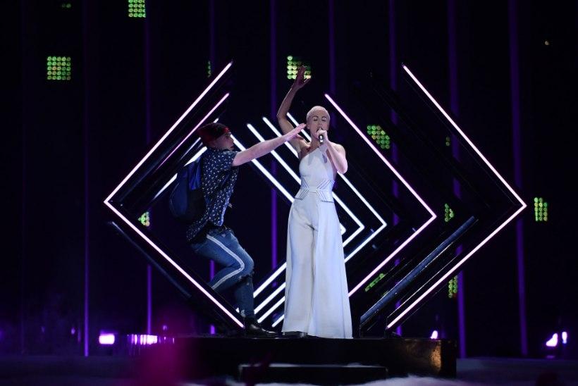 EBU: Eurovisioni lavale tunginud mees on politseile üle antud