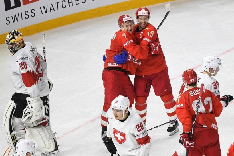 Venemaa oli Šveitsiga hädas, Soome purustas Kanada