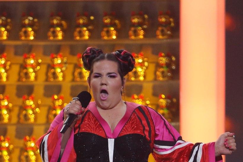 Eurovisioni võitjat Nettat süüdistatakse rassismis