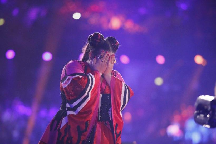 Eurovisioni võitja Netta võiduhetkest: kõik läks häguseks ja ma ei saanud aru, mis toimub