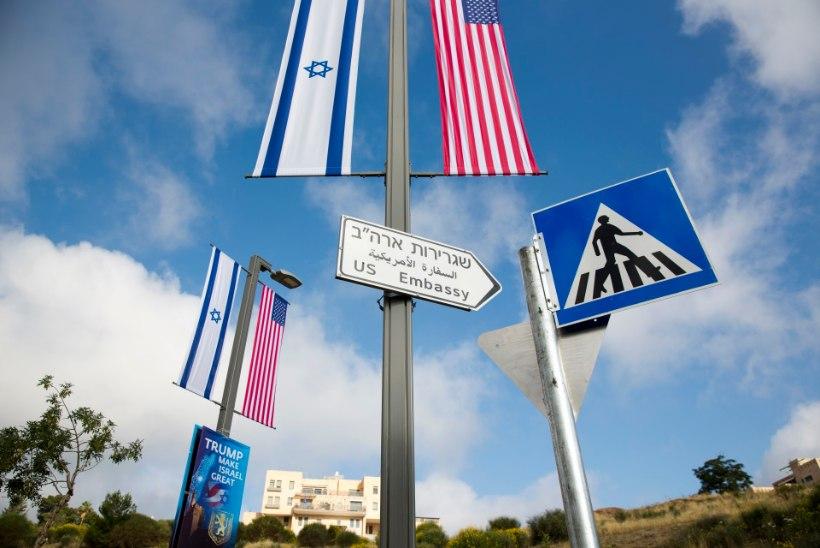 Jeruusalemmas avatakse USA saatkond