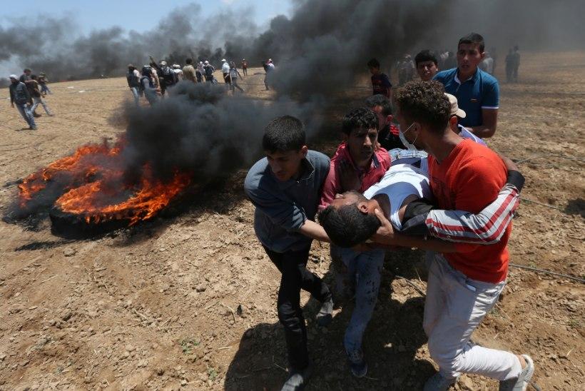 USA saatkonna avamise eel tekkinud rahutustes hukkus 16 palestiinlast