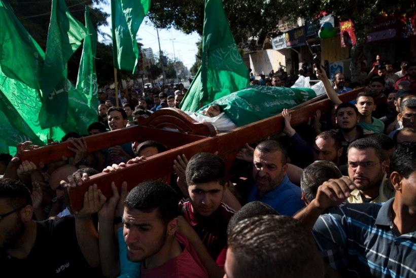 58 MATUST: palestiinlased matsid Iisraeli-Gaza piiril hukkunud lähedasi