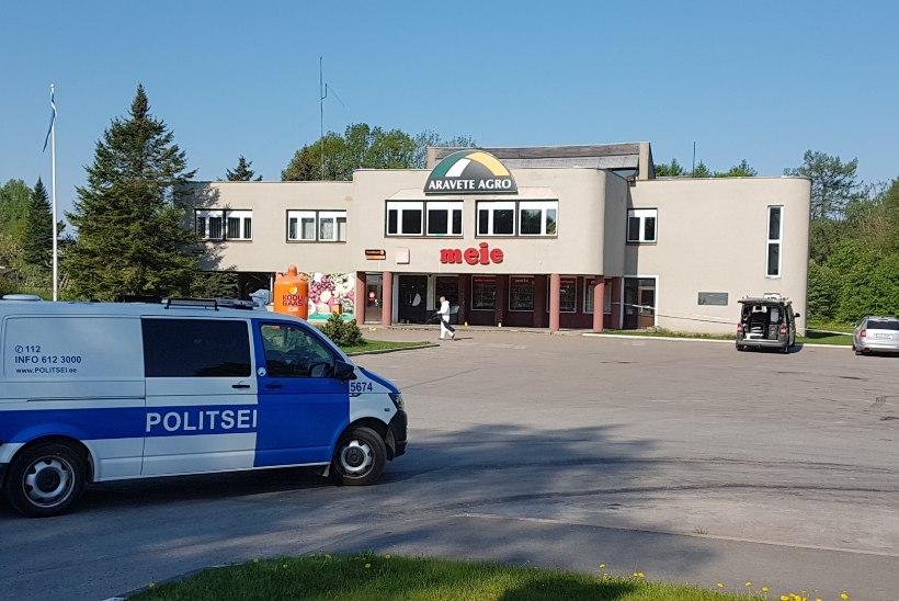 GALERII   Järvamaal Aravetel lasti sularahaautomaat õhku
