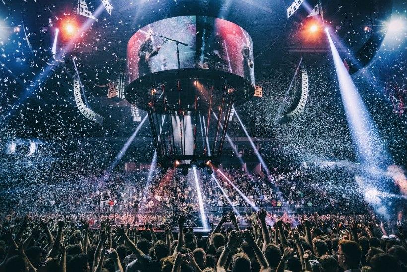Eesti kinodesse jõuab rokkbändi Muse kontsertfilm