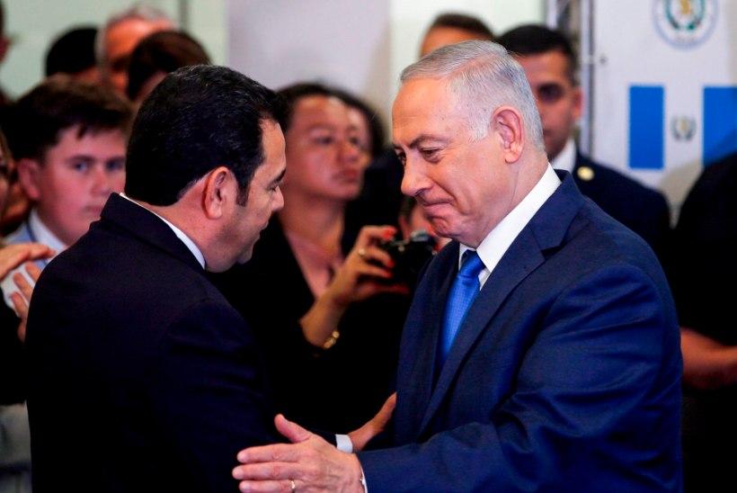 USA jälgedes: Jeruusalemmas avas saatkonna ka Guatemala